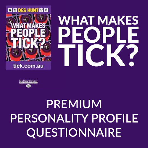 What Makes People Tick Premium Personality Profile